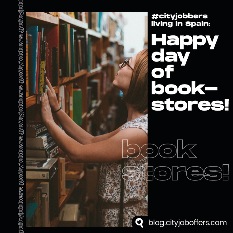 Happy day of book stores