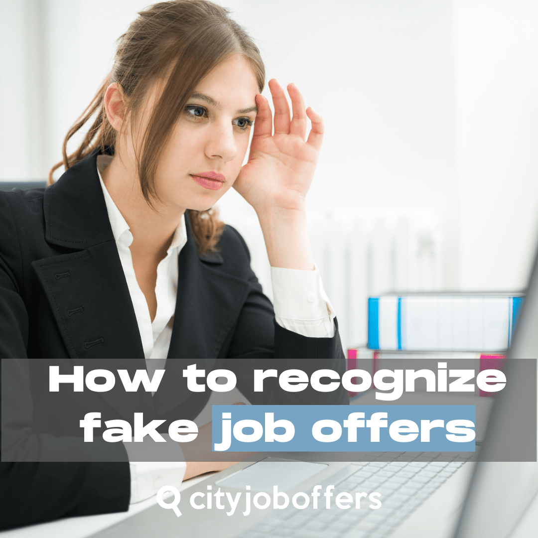 How to recognize fake job offers - Instagram y Facebook